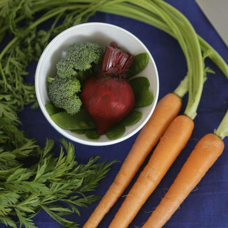 1. Eat more vegetables Photo: Brett Coomer, Houston Chronicle