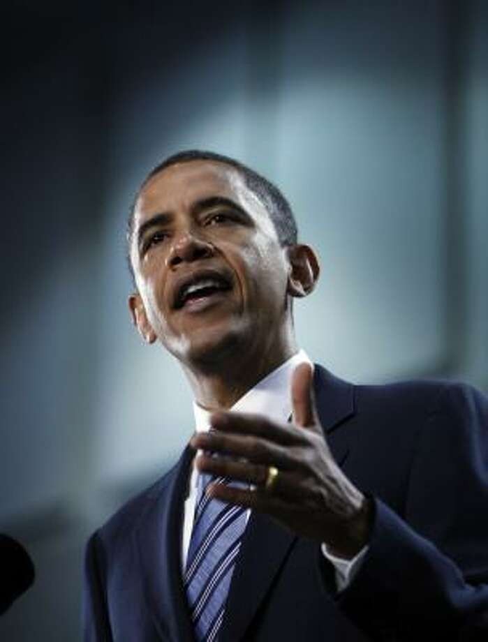 The Chronicle endorses Sen. Barack Obama, D-Ill., for president of the United States. Photo: Chris Carlson, ASSOCIATED PRESS