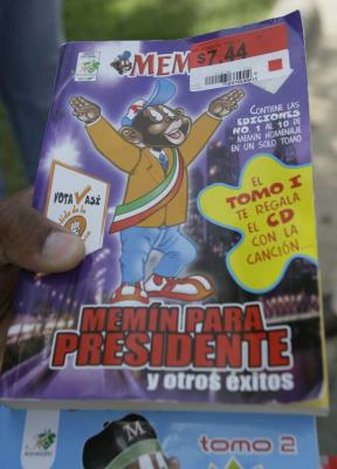 Wal-Mart said in a statement Wednesday that it will no longer distribute Memín Pinguín comic books in its stores. Photo: MELISSA PHILLIP, CHRONICLE