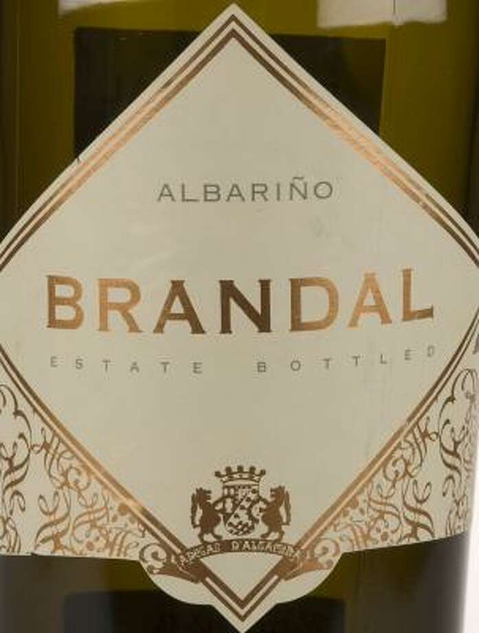 "2005 Altamira ""Brandal"" Albarino. Score: 13 (4, 4, 5) Photo: JAMES NIELSEN, CHRONICLE"