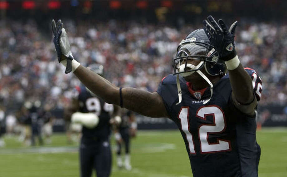 Jacoby Jones was the Texans' third-round pick out of Lane College in the 2007 NFL draft. Photo: Smiley N. Pool, Chronicle
