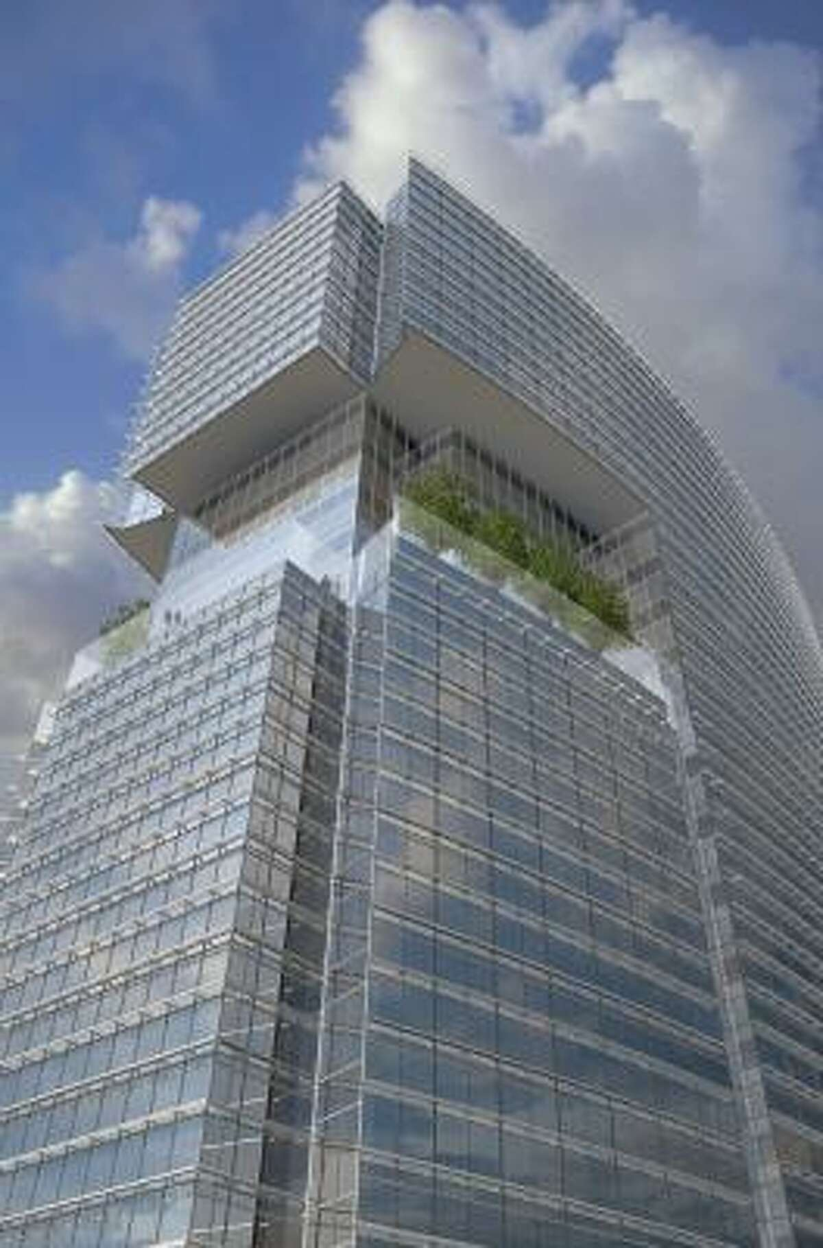 KPMG will move into the top four floors of MainPlace when it is completed in 2011.