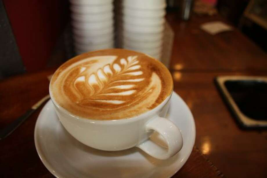 Austin's Caffe Medici is known for its latte art. Photo: TRACY L. BARNETT