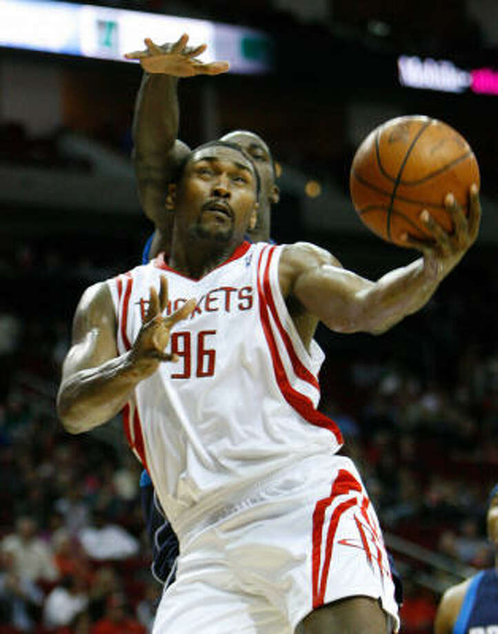 Ron Artest gives the option of playing a power forward with 3-point shooting range. Photo: Nick De La Torre, Houston Chronicle