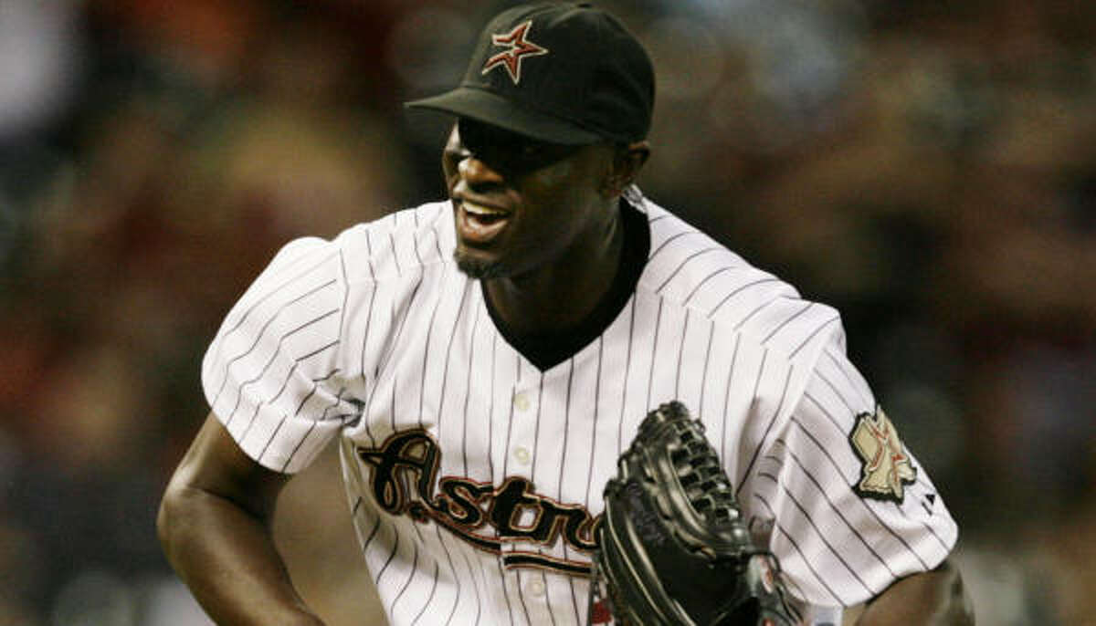 The Astros got a reliever for next season (LaTroy Hawkins, above) and a pitcher for the future (Chia-Jen Lo).