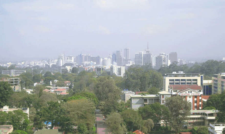 The skyline of Nairobi. Photo: King Features