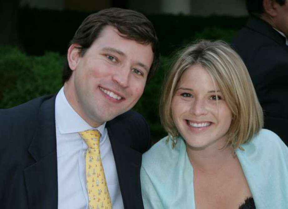 Jenna Bush and Henry Hager became engaged in Maine last year. Photo: Kimberlee Hewitt, WHITE HOUSE