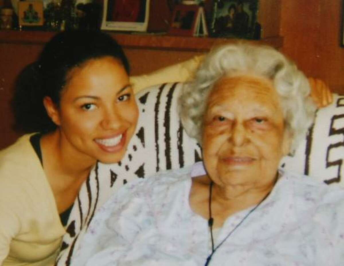 Henrietta Bell Wells, seen in 2007 with actress Jurnee Smollett, was the subject of the movie The Great Debaters.