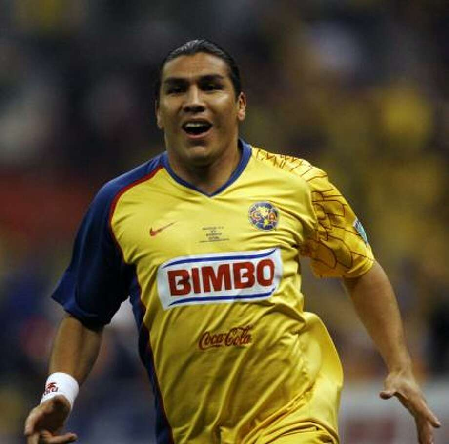 Salvador Cabañas, Club América's top forward, has been given plenty of help for InterLiga and league play. Photo: Claudio Cruz, AP