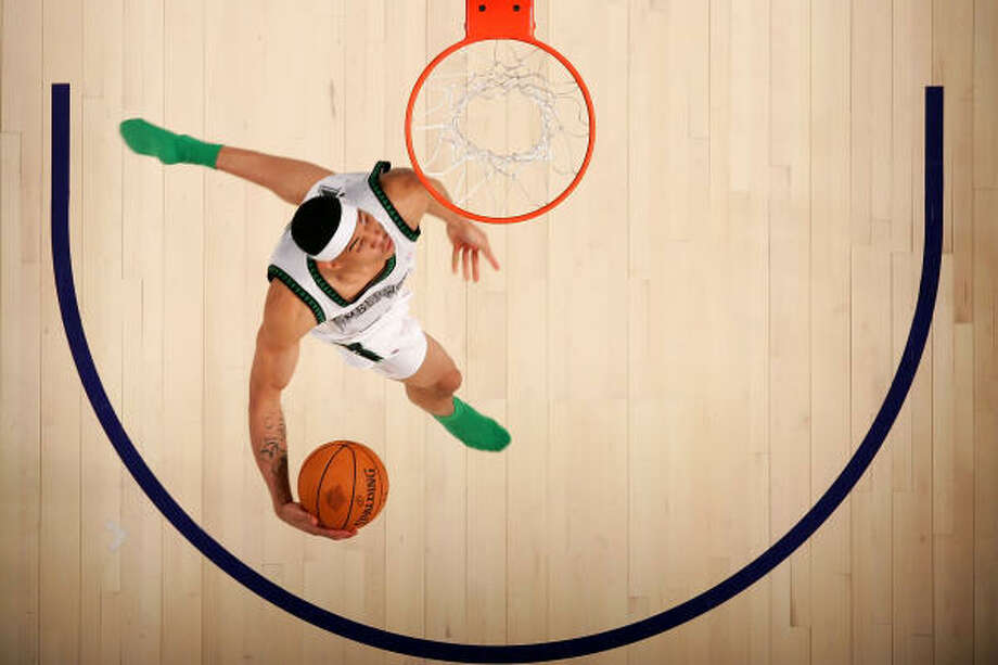 Gerald Green's dunks made for pretty pictures but did not do a lot for his NBA career. Photo: Chris Graythen, Getty Images