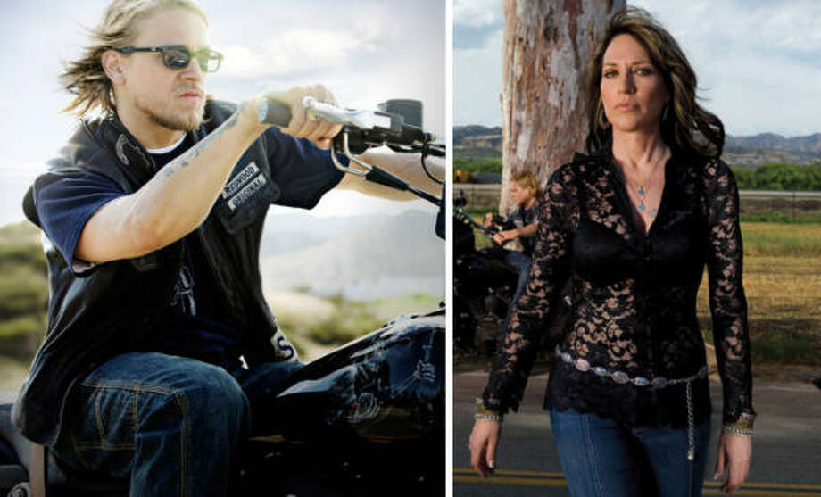 Katey Sagal, Charlie Hunnam, Sons of Anarchy, FX All you have to know is that lead actress is going to be a bloodbath at the next Emmys. There's just too much talent there. And Sagal could very well be the odds-on favorite. Hunnam, whose growth in the role helped add nuance to the outlaw motorcycle saga, showed impressive range all season long, culminating in the final moments of the finale. Photo: FX