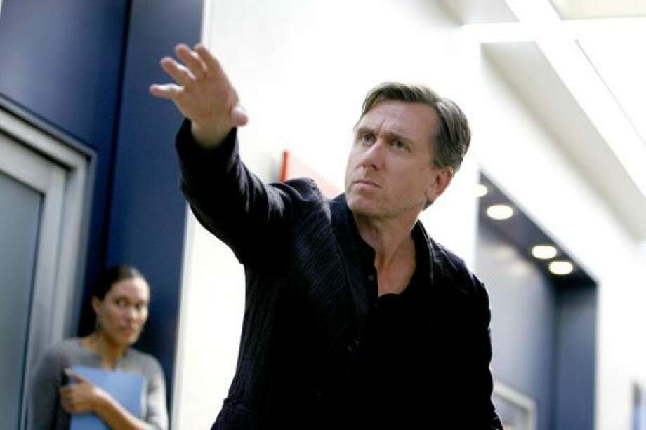 Tim Roth, Lie to Me, FoxIt's easy to give network programming -- even the finest of it -- less attention and affection in the face of so much impressive work on the cable side. But Roth's combination of smarts, aggression and compassion has not only elevated this procedural drama, but also proved he deserves the Emmy attention that has previously (and deservedly) gone to Hugh Laurie on House. Photo: Fox