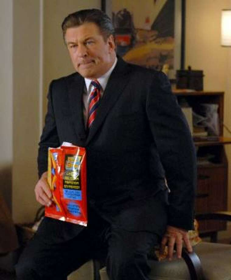 Alec Baldwin, 30 Rock, NBCIs there a show here without him? Sure, but not nearly one that reaches the comic heights achieved with Baldwin's impeccable timing and sublimely nuanced facial expressions. No wonder he wins the Emmy all the time. Photo: NBC