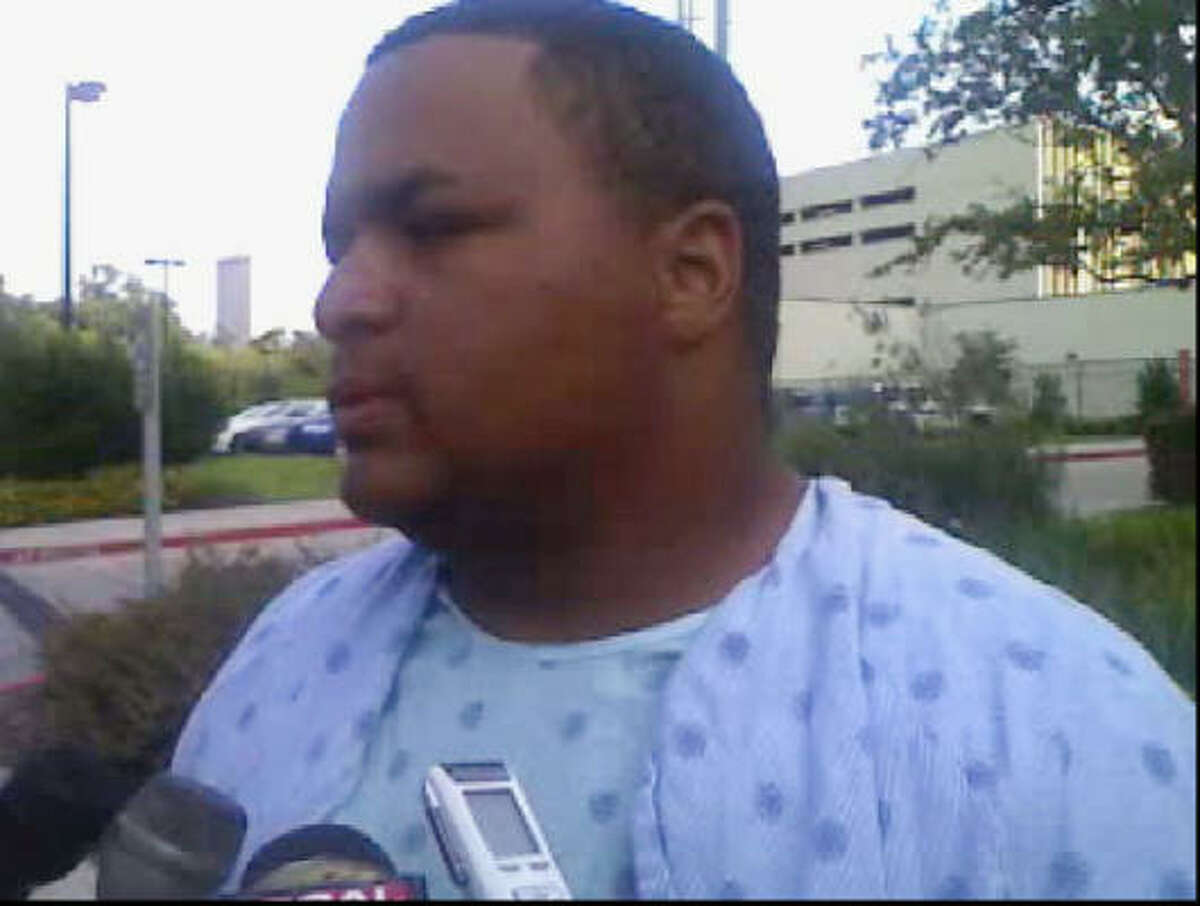 Micheal Gabriel says he's not sure if he'll ever go back to working at the LyondellBasell refinery.