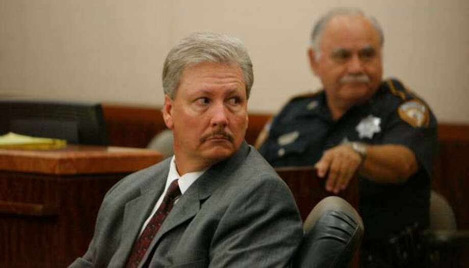 Capt. Tim Cannon is accused of tampering with evidence in a case involving a friend of his then-boss, Harris County Precinct 4 Constable Ron Hickman. Cannon was fired from Precinct 4 last year. Photo: STEVE CAMPBELL, CHRONICLE