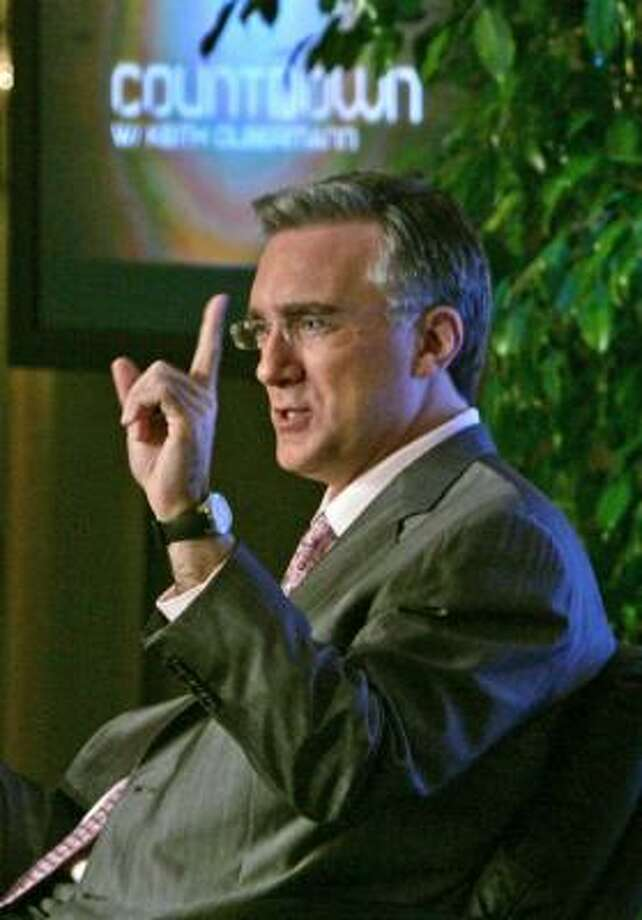 Olbermann is known for the Special Comments segment on Countdown With Keith Olbermann. Photo: REED SAXON, ASSOCIATED PRESS