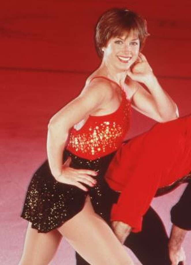 Figure skater Dorothy Hamill, who won a gold medal at the 1976 Olympics, is undergoing treatment for breast cancer. Photo: CHRONICLE FILE