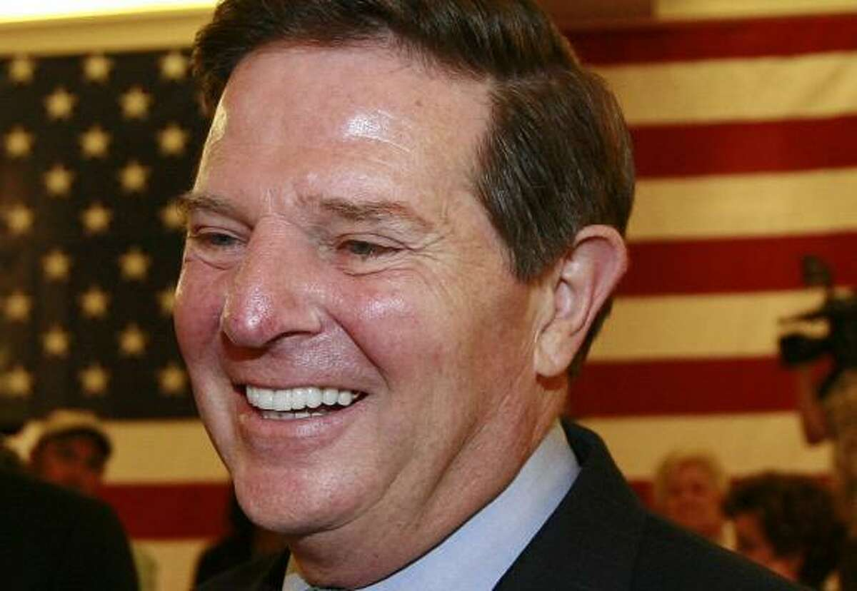 Tom DeLay still faces criminal charges in Austin of money laundering.