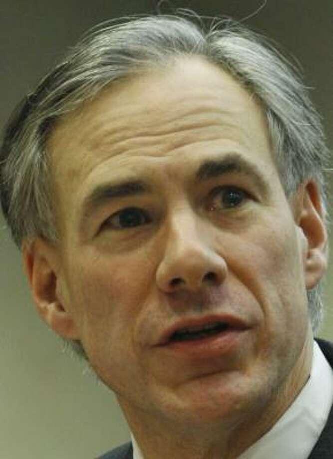 Texas Attorney General Greg Abbott Photo: Harry Cabluck, AP