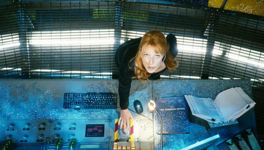"Gwyneth Paltrow stars as Pepper Potts in Iron Man."" Photo: Paramount"