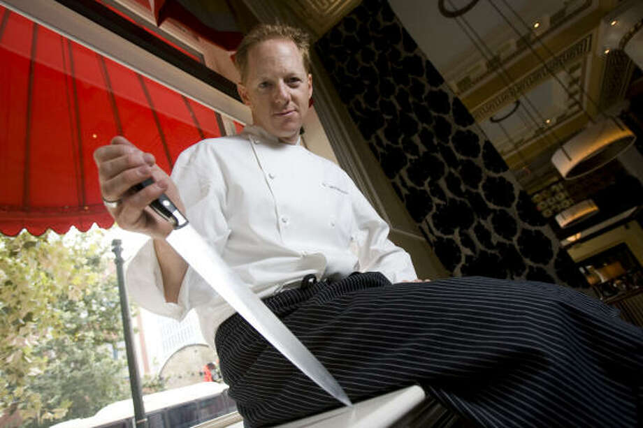 Michael Kramer is the execitive chef of Voice at Hotel Icon. Photo: Nick De La Torre, HOUSTON CHRONICLE