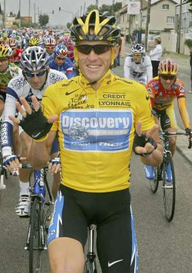 Lance Armstrong has expressed doubts about racing in next year's Tour de France. Photo: PETER DEJONG, AP