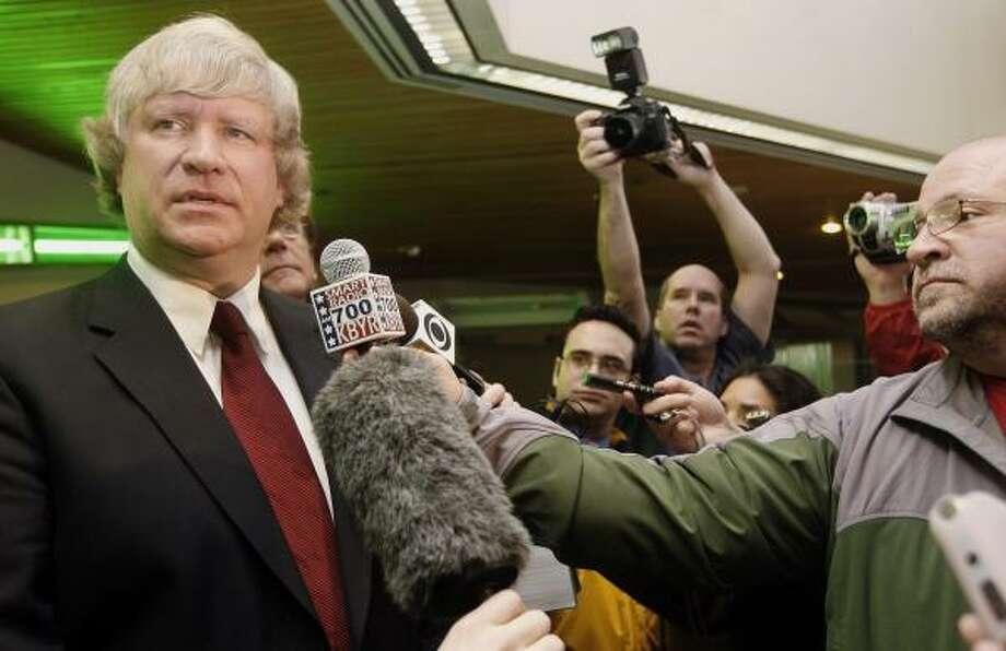 Former Alaska state Representative Vic Kohring. Photo: Al Grillo, AP