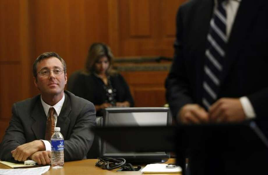 Joey Vallone, son of restaurateur Tony Vallone. Photo: Johnny Hanson, Houston Chronicle