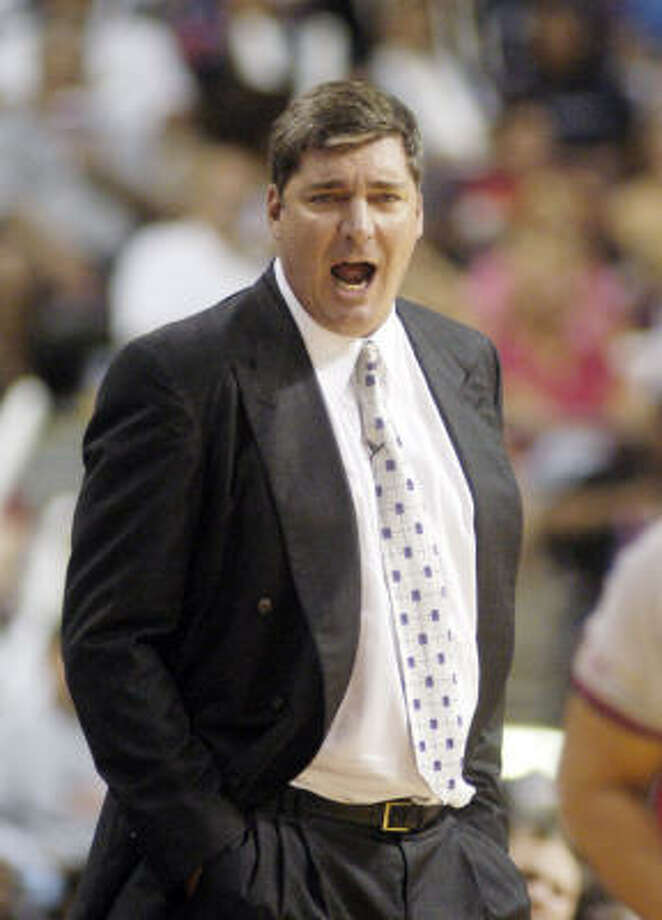 Detroit head coach Bill Laimbeer believes his Shock will claim its second WNBA crown in three years as the WNBA playoffs get set to kick off. Photo: PAUL WARNER, AP
