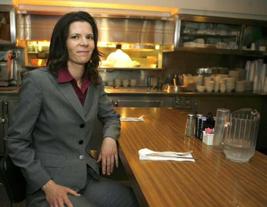 Rana Parker is the dietitian for the Los Angeles Police Department. The department believes it's the first to hire one full time. Photo: DAMIAN DOVARGANES, ASSOCIATED PRESS