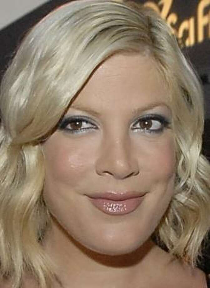 Tori Spelling will not appear in the spinoff of 90210. Photo: DAN STEINBERG, AP