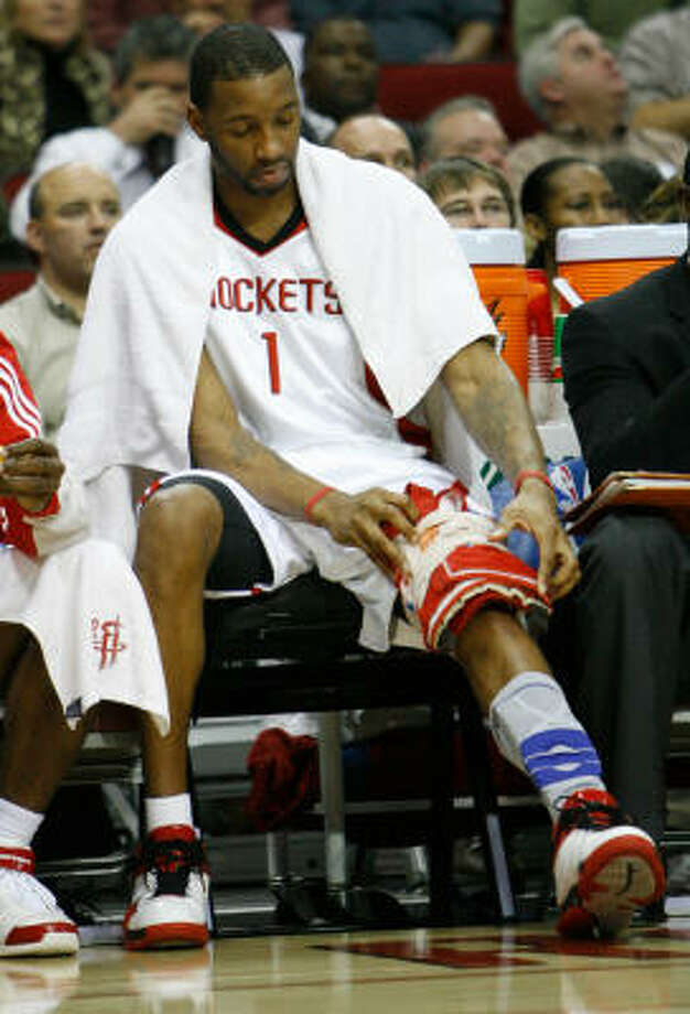 Tracy McGrady should take however much time he needs to get healthy again, Richard Justice writes. Photo: Nick De La Torre, Houston Chronicle