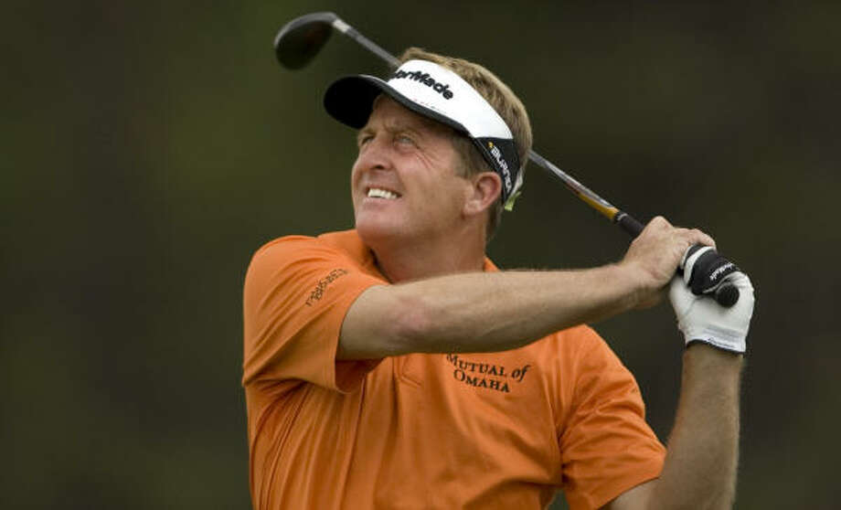 Fred Funk won his first Champions Tour major title on Sunday. Photo: Steve Gibbons, Getty Images