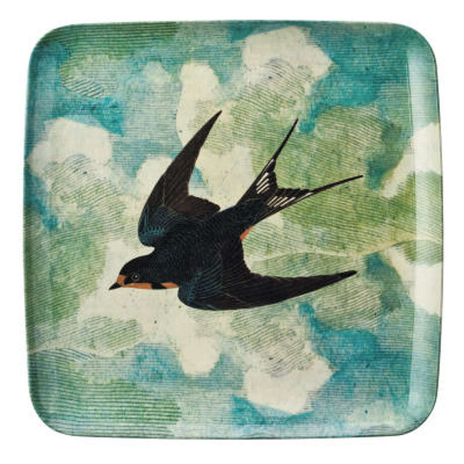 Home Collection by John Derian bird tray, $16.99 at Target. Photo: Target