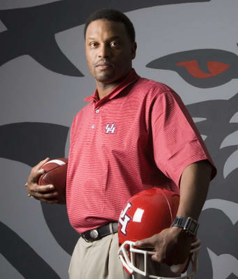 If Kevin Sumlin's college playing career is any indication of what he'll do with his latest opportunity, then the University of Houston is about to enter a golden age of football. Photo: Brett Coomer, Chronicle
