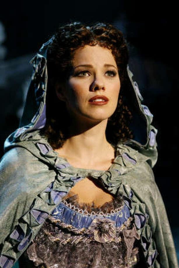 Kingwood native Kristen Hertzenberg is appearing in Phantom of the Opera in Las Vegas. Photo: Isaac Brekken