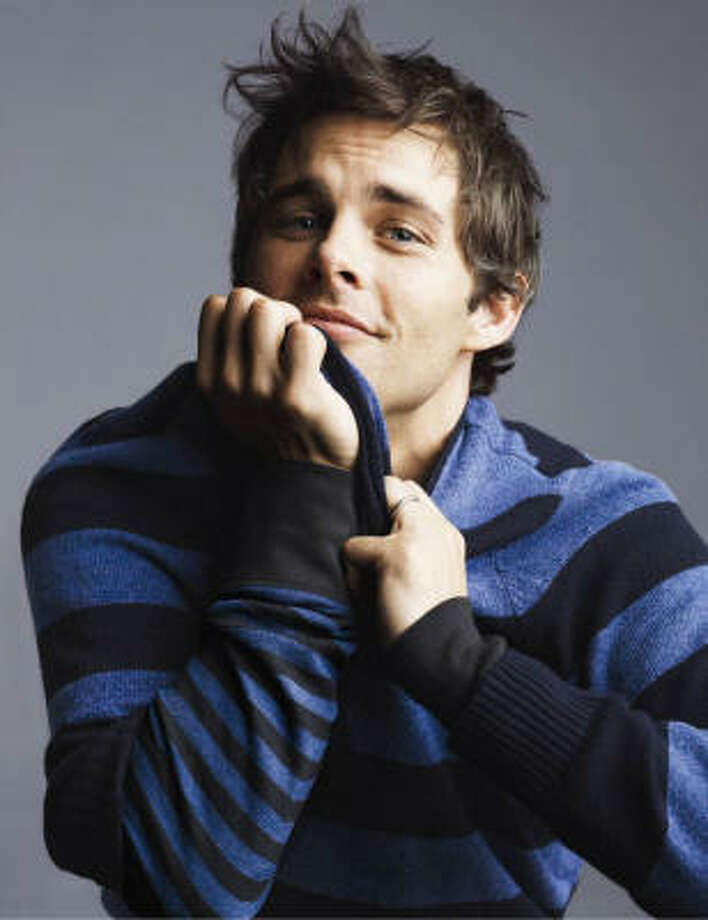 James Marsden shows off a casual look in a Gap ad. Photo: The Gap