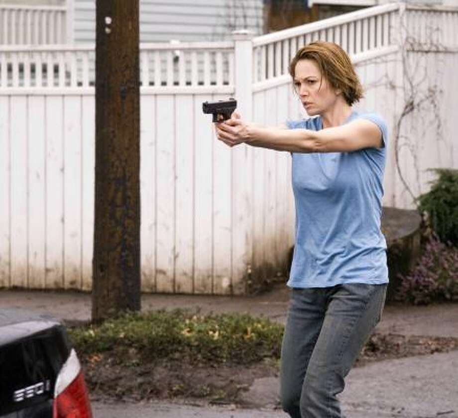 Diane Lane plays an FBI special agent working a cyber crime in Untraceable. Photo: JOHN BRAMLEY