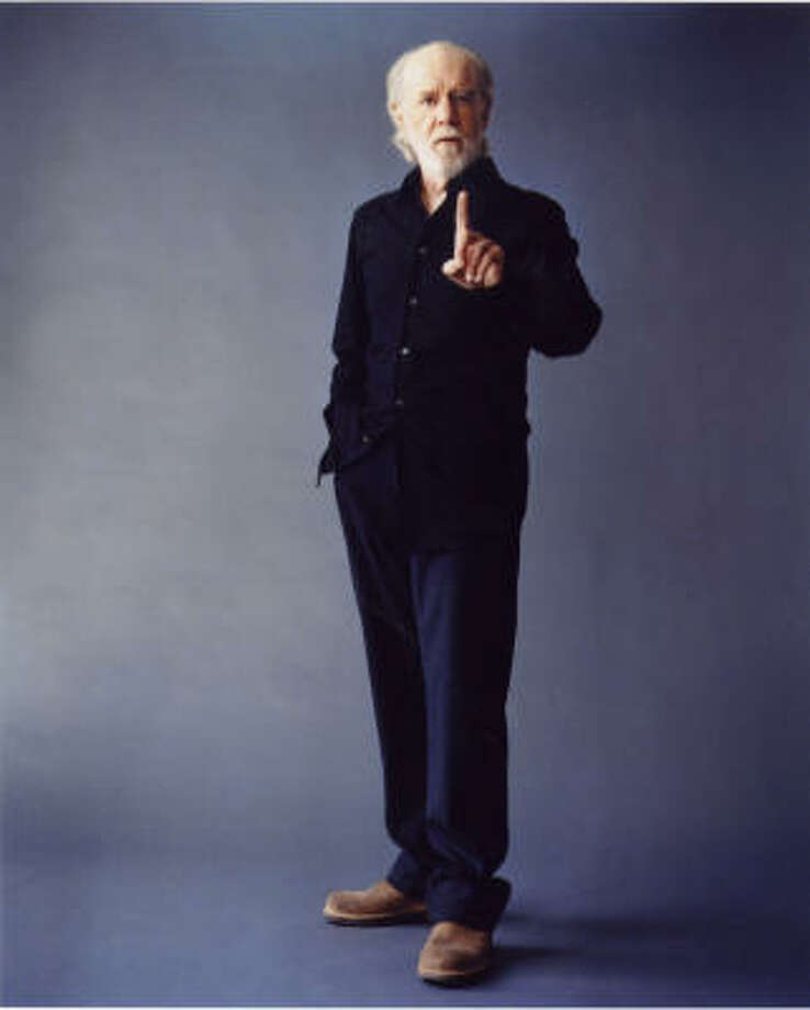 Comedian George Carlin died Sunday at 71. Photo: Chronicle File
