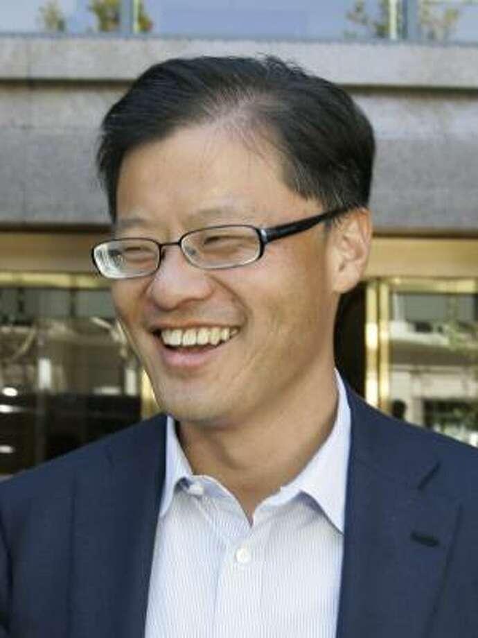 Yahoo CEO and co-founder Jerry Yang. Photo: Paul Sakuma, AP