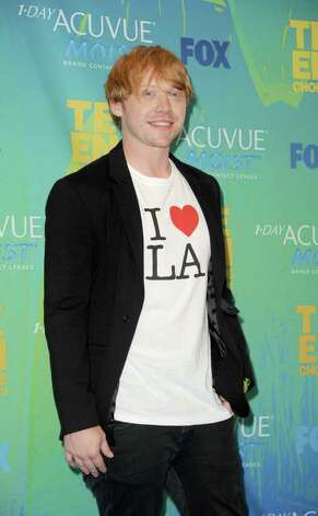 Actor Rupert Grint poses in the press room during the 2011 Teen Choice Awards held at the Gibson Amphitheatre in Universal City, California. Photo: Jason Merritt, Getty Images / 2011 Getty Images