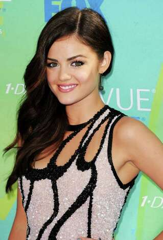 Actress Lucy Hale arrives at the 2011 Teen Choice Awards held at the Gibson Amphitheatre in Universal City, California. Photo: Jason Merritt, Getty Images / 2011 Getty Images