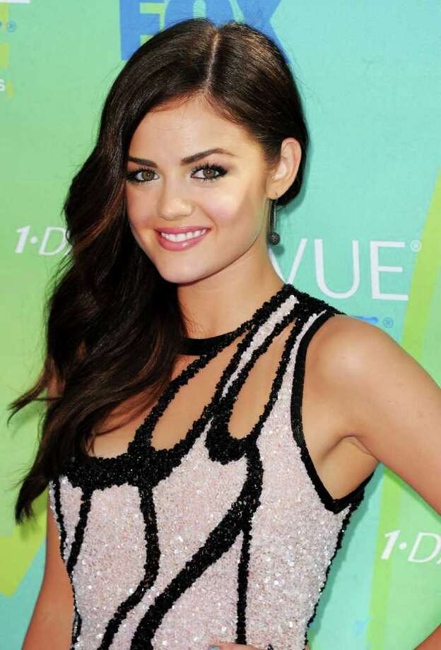 UNIVERSAL CITY, CA - AUGUST 07:  Actress Lucy Hale arrives at the 2011 Teen Choice Awards held at the Gibson Amphitheatre on August 7, 2011 in Universal City, California. Photo: Jason Merritt, Getty Images / 2011 Getty Images