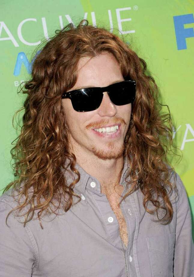 UNIVERSAL CITY, CA - AUGUST 07:  Professional snowboarder Shaun White arrives at the 2011 Teen Choice Awards held at the Gibson Amphitheatre on August 7, 2011 in Universal City, California. Photo: Jason Merritt, Getty Images / 2011 Getty Images
