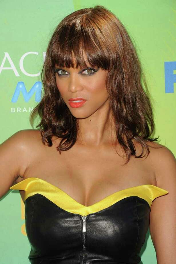 UNIVERSAL CITY, CA - AUGUST 07:  TV personality Tyra Banks arrives at the 2011 Teen Choice Awards held at the Gibson Amphitheatre on August 7, 2011 in Universal City, California. Photo: Jason Merritt, Getty Images / 2011 Getty Images