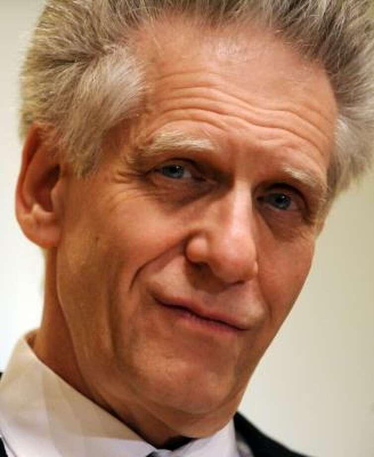 Canadian filmmaker David Cronenberg Photo: TIZIANA FABI, AFP/Getty Images