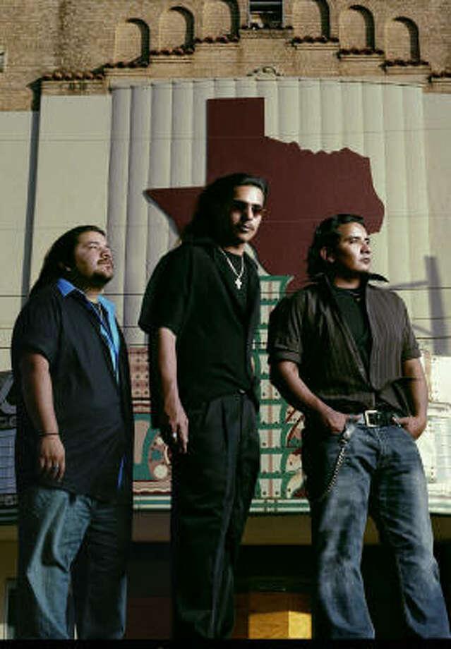 Los Lonely Boys are Henry Garza, from left,  Ringo Garza and Jojo Garza. Photo: James Minchin/The 3 Collective