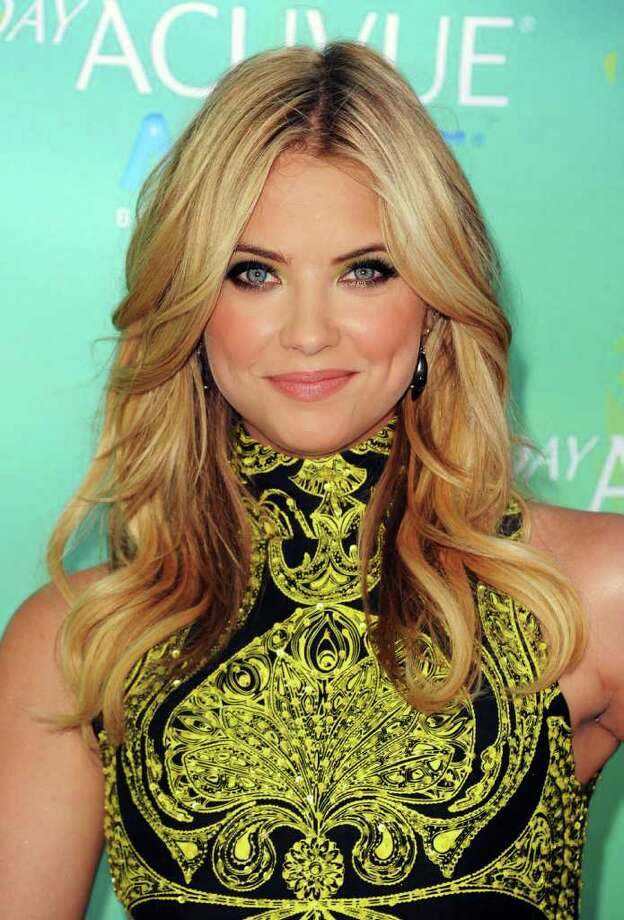 UNIVERSAL CITY, CA - AUGUST 07:  Actress Ashley Benson arrives at the 2011 Teen Choice Awards held at the Gibson Amphitheatre on August 7, 2011 in Universal City, California. Photo: Jason Merritt, Getty Images / 2011 Getty Images