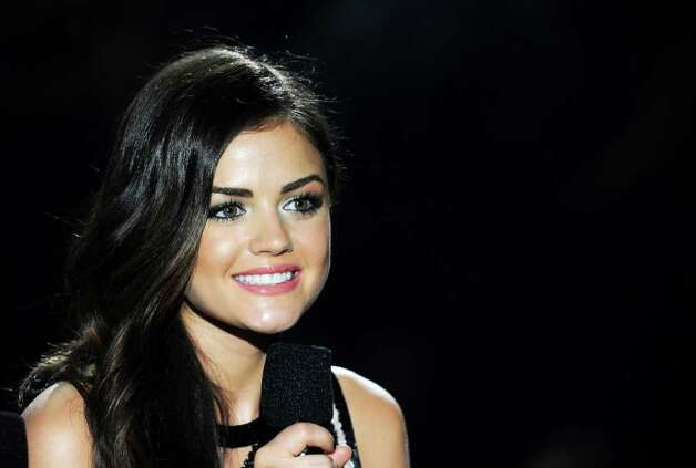 Lucy Hale onstage during the 2011 Teen Choice Awards held at the Gibson Amphitheatre in Universal City, California. Photo: Kevin Winter, Getty Images / 2011 Getty Images