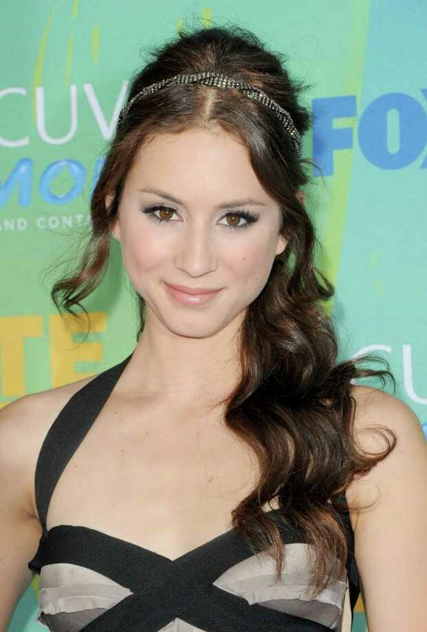 UNIVERSAL CITY, CA - AUGUST 07:  Actress Troian Bellisario arrives at the 2011 Teen Choice Awards held at the Gibson Amphitheatre on August 7, 2011 in Universal City, California. Photo: Jason Merritt, Getty Images / 2011 Getty Images